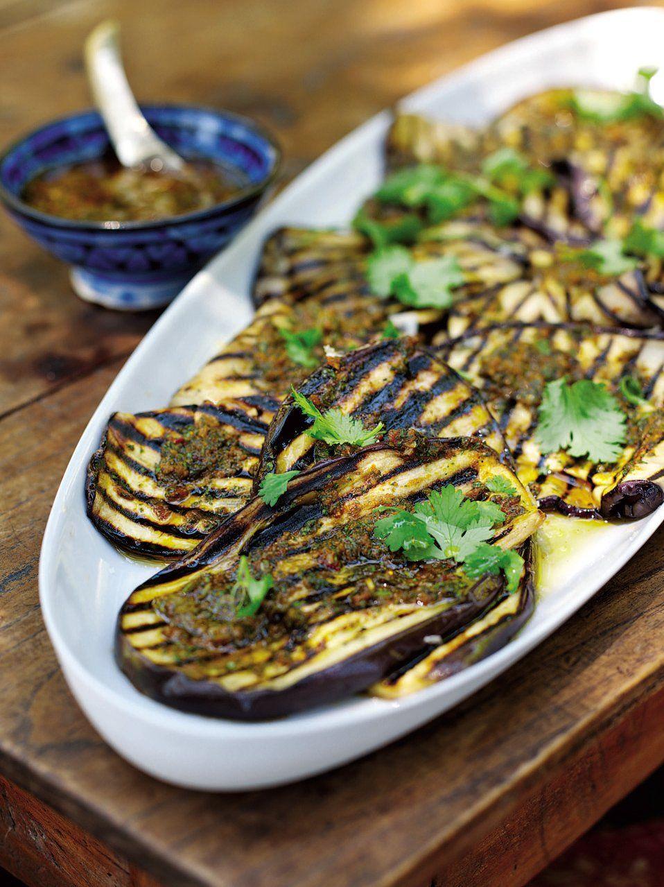 Chermoula is a spicy Arabic recipe involving harissa, saffron, paprika, lemon and mint.
