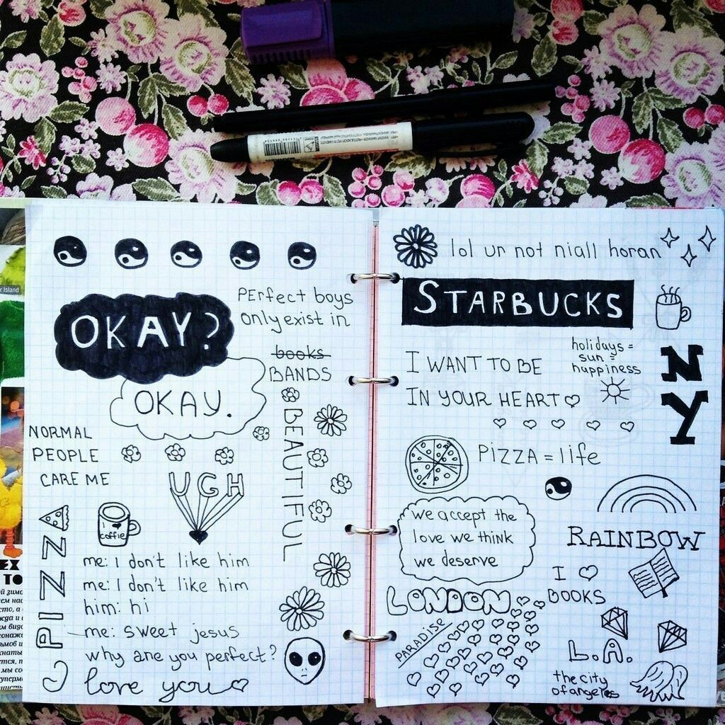 Image result for cute notebook doodles tumblr   doodle ...
