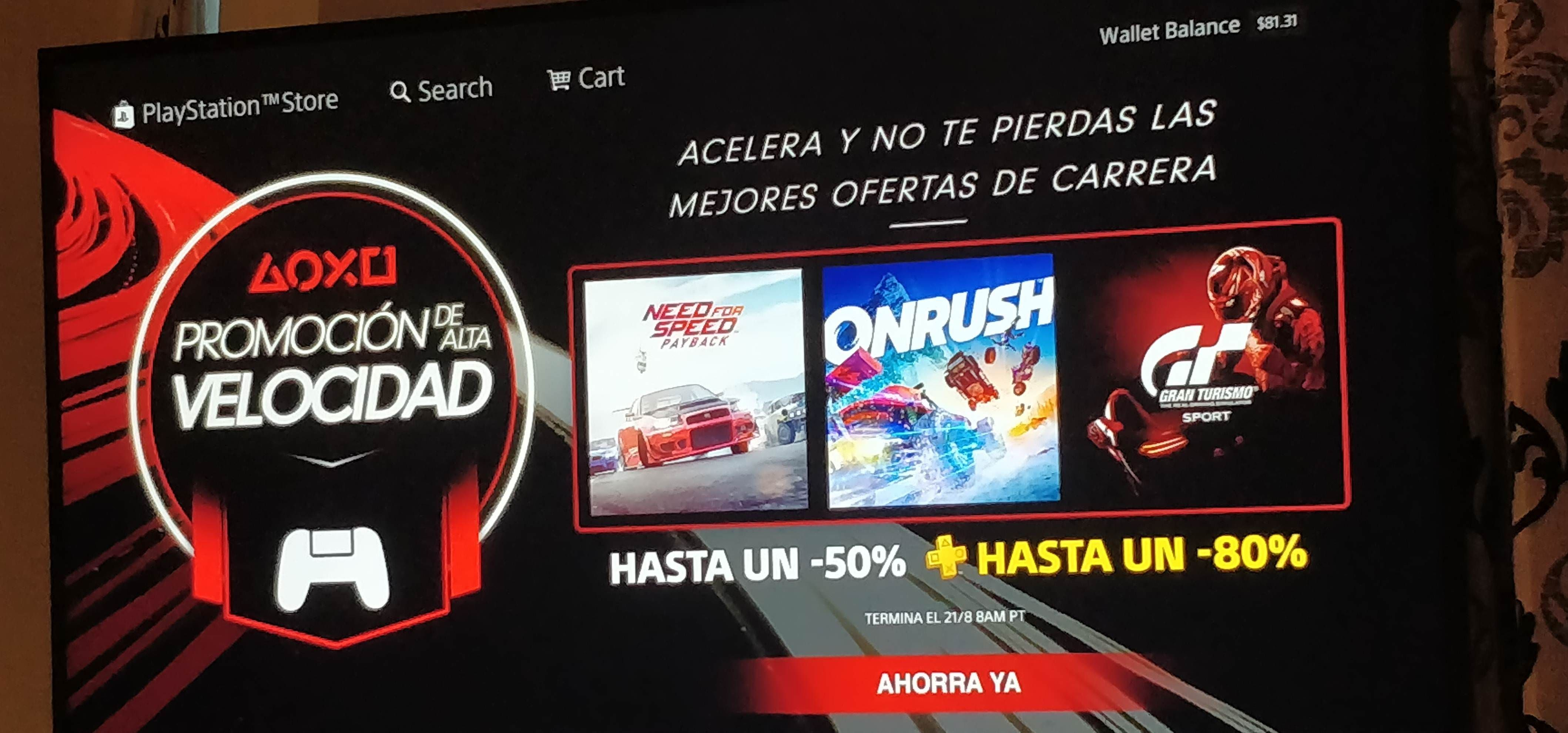 image] Anyone else\'s (USA) PlayStation store gone a bit Spanish ...