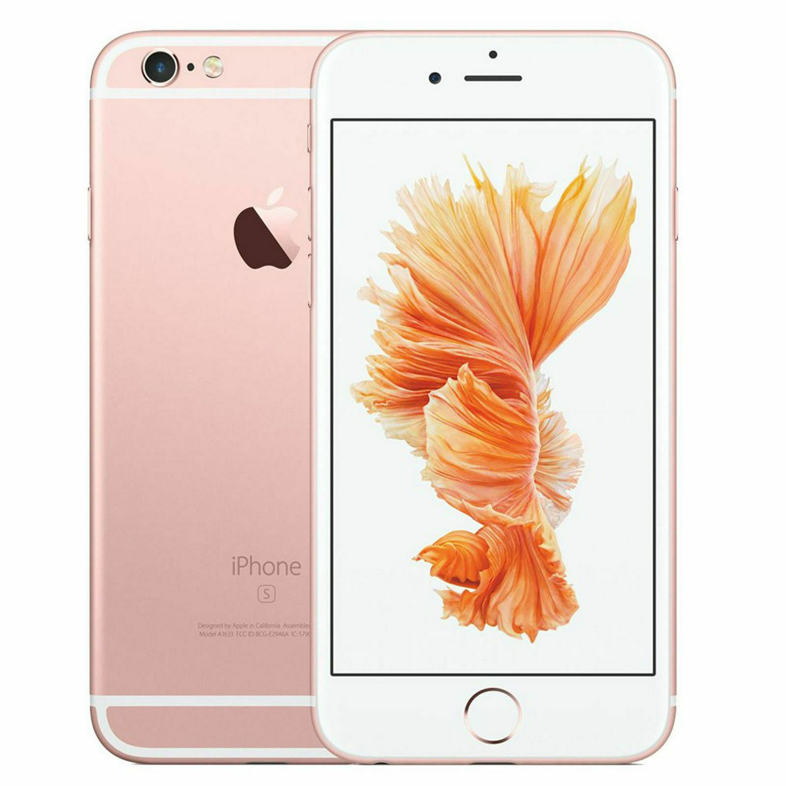 Apple Iphone 6s 16gb Rose Gold Sprint A1688 Icloud Account