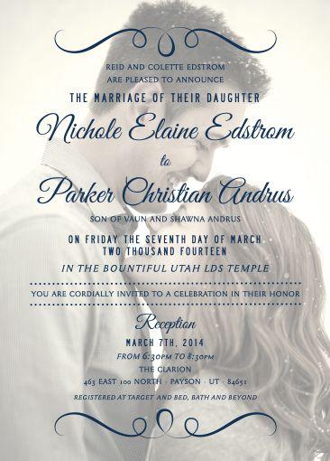 the invitation maker offers high quality custom wedding invitations
