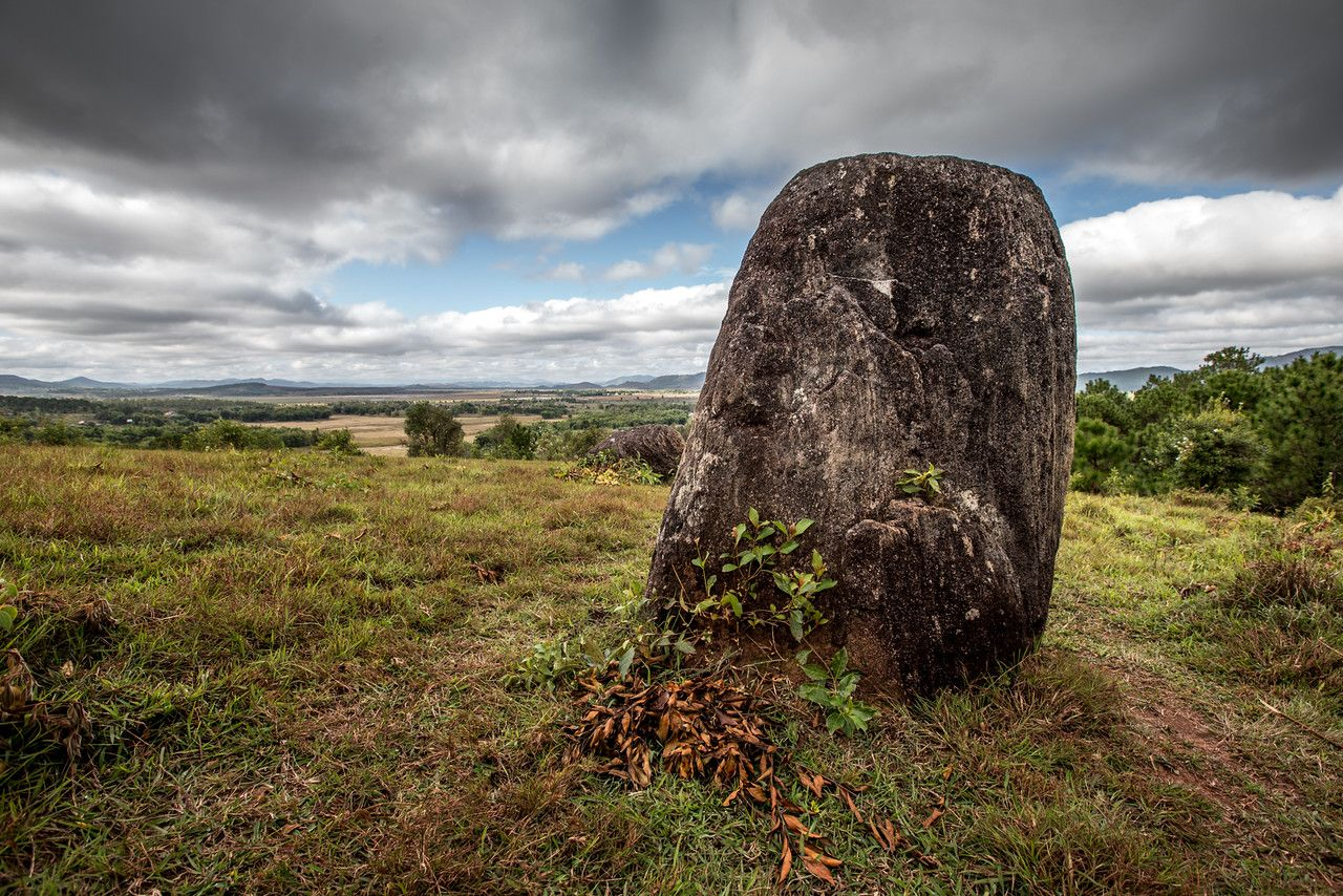 Photo: Mysterious Plain of Jars in Central Laos