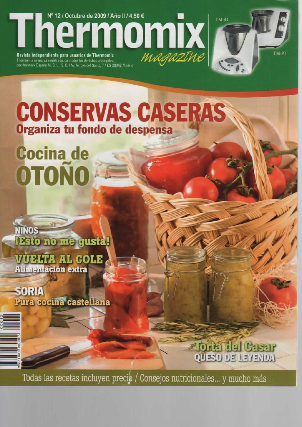 Libros Thermomix Issuu Revista Thermomix Nº12 Conservas Caseras De Argent