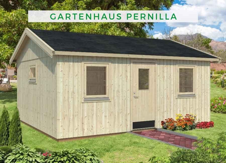 Palmako Nordic Gartenhaus Pernilla 21,5 m² Gartenhaus