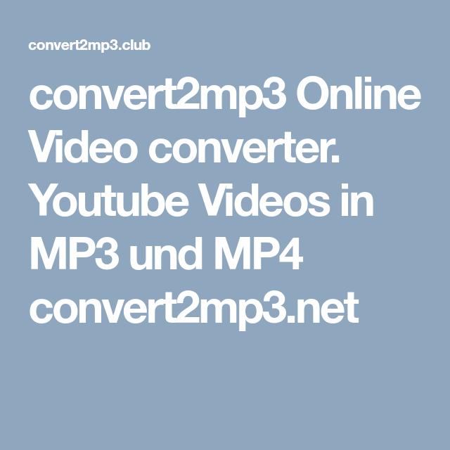 Convert2mp3 Online Video Converter Youtube Videos In Mp3 Und Mp4 Convert2mp3 Net Musica