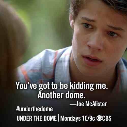 Under The Dome Season 1 Under The Dome Dome Broadcast