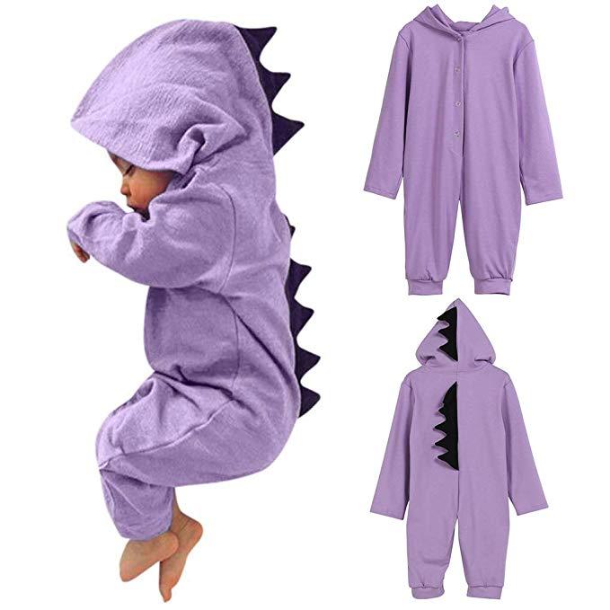 LUCSUN Toddler Baby Boy Clothes Dinosaur Long Sleeve Sweatshirt Tops Elastic Pants Casual Outfits
