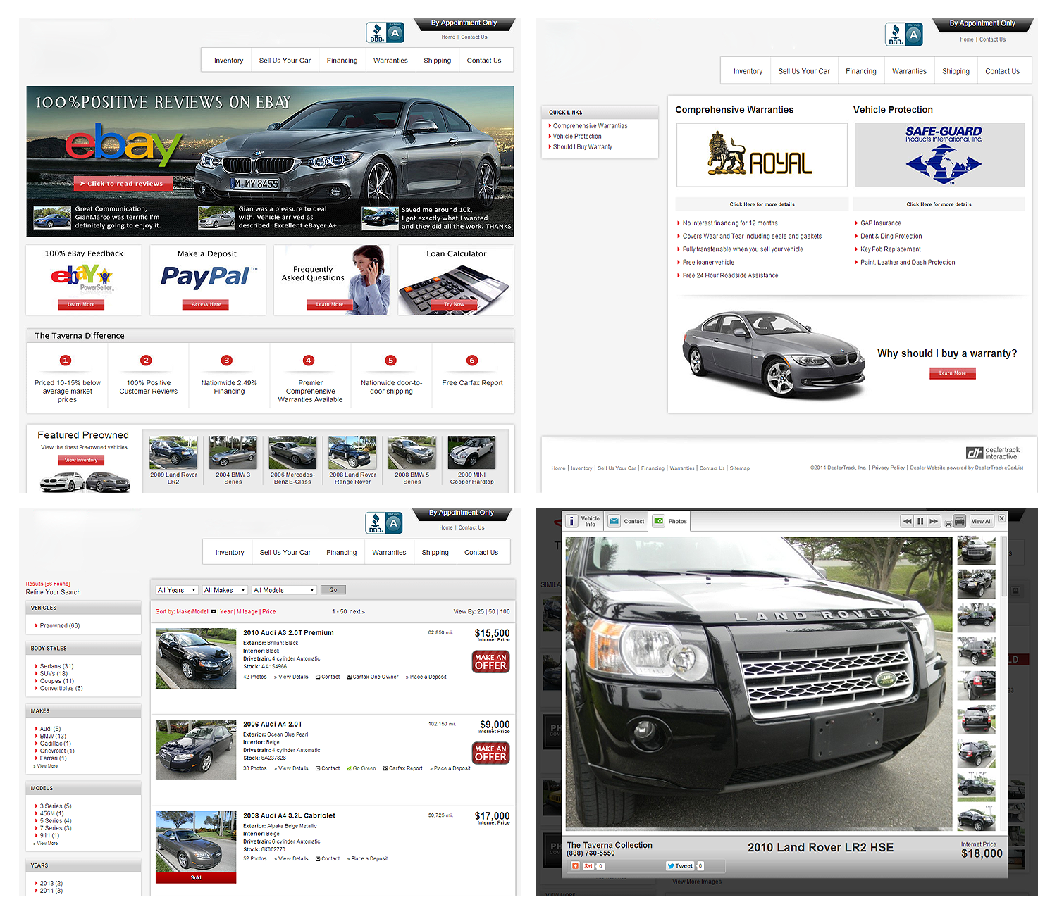 South Florida Used Car Dealers classified site Web