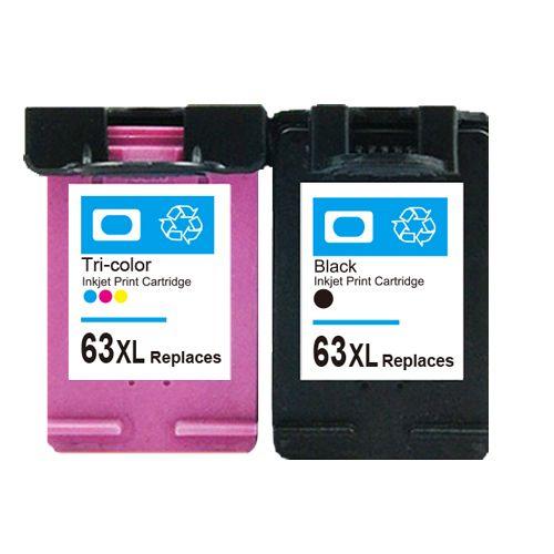 Enjoyable For Hp 63 63Xl Ink Cartridges For Hp Deskjet 2130 1112 2132 Interior Design Ideas Gentotryabchikinfo