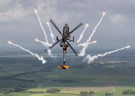 RNLAF AH-64D Apache demo team