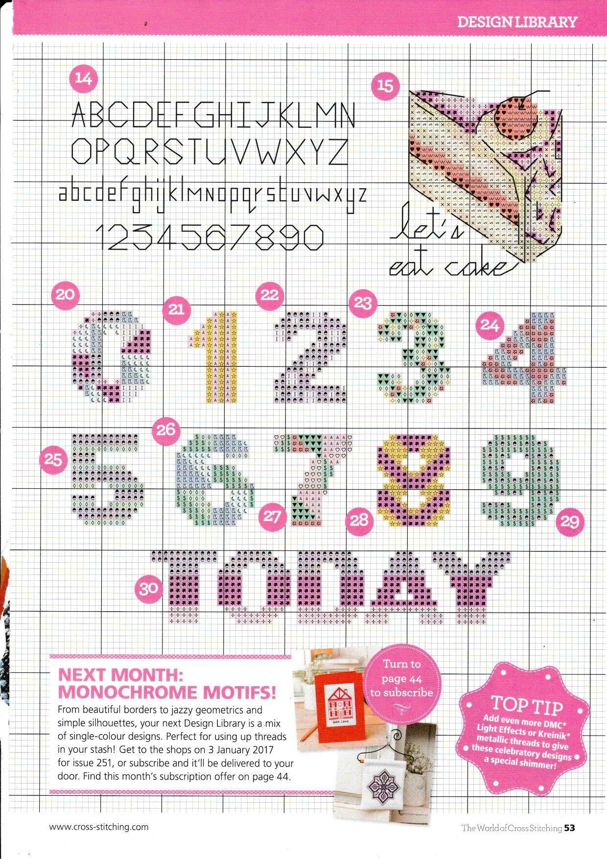 Pin Van Carolyn Op Number Xstitch Borduren Patronen Kaarten Maken