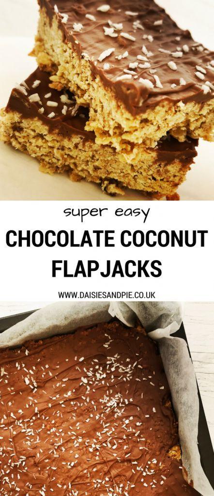 47 Recipe Tasty Fruity Flapjacks: Easy Chocolate Coconut Flapjacks