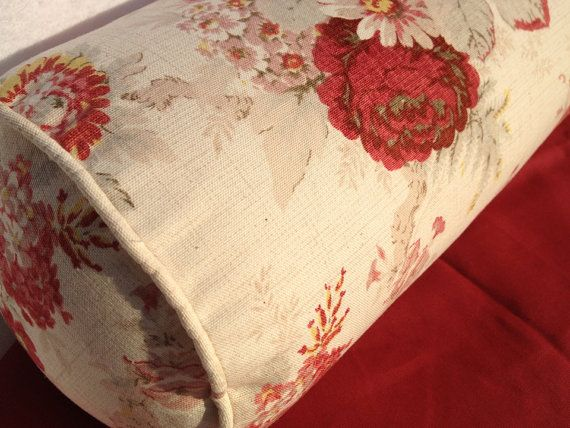 Pin By Pillow Loft Home Decor On Waverly Norfolk Rose Coordinating Patterns Rose Decor Vintage Roses Red Floral