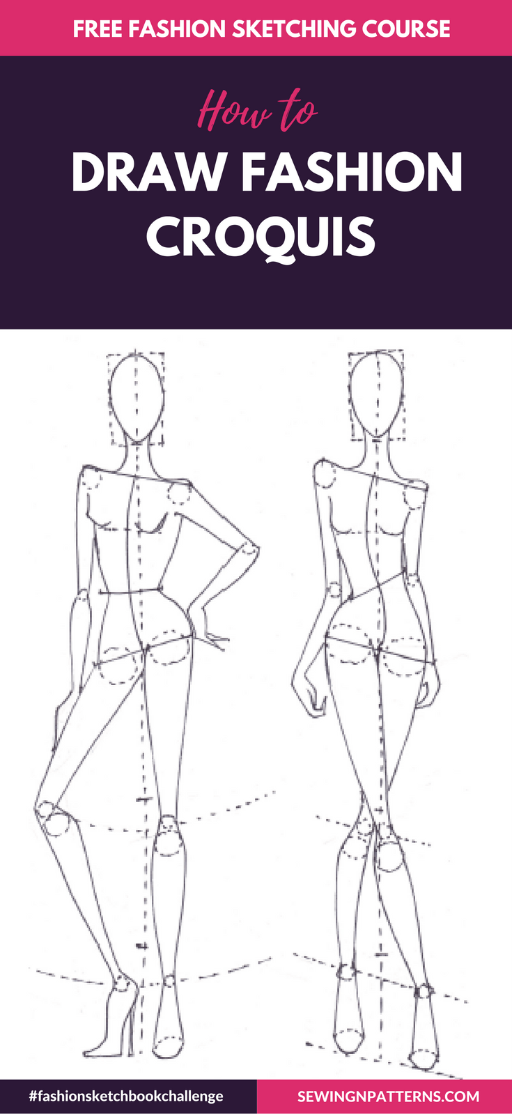 Fashion Sketchboook Challenge New - sewingnpatterns