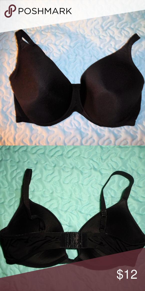 bfb091df9576e SECRET TREASURES BLACK BRA 42 DD Secret Treasures women s black underwire  bra size 42 DD.