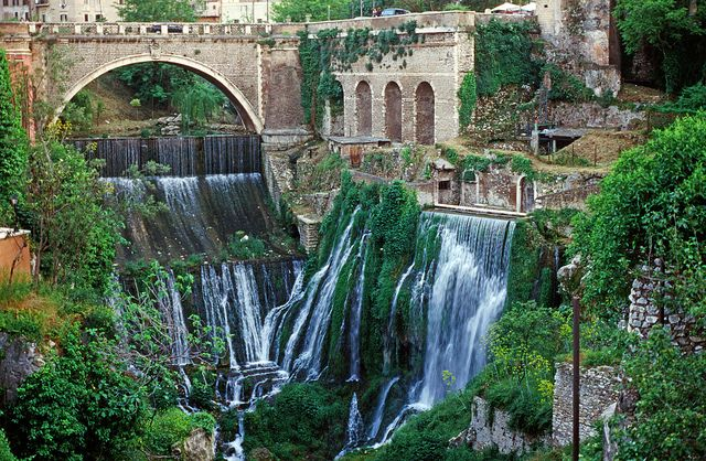 Tivoli Gardens Rome Pictures Waterfalls, Tivoli, Italy In 2019 | Magnificent Falls