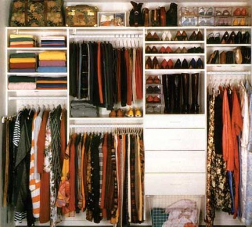A Step by Step Guide to Closet Organization Wardrobe organisation
