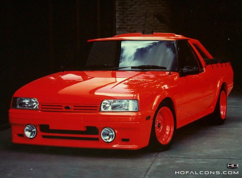 Millenium Falcon Ute Designed By Wayne Draper Ford Motor Aussie