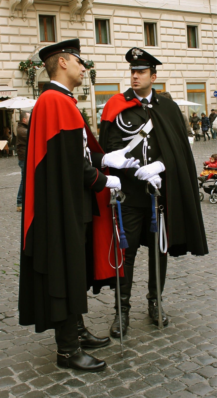 Italian Carabinieri Uniforms Designed By Valentino