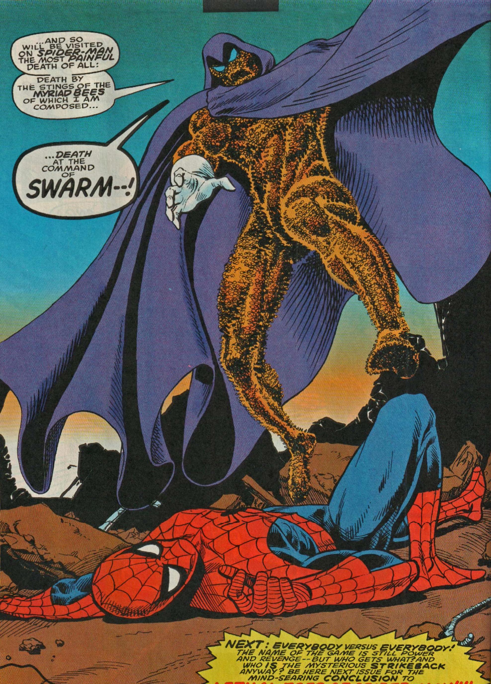 Swarm [Marvel,Spiderman] | Marvel spiderman, Comic villains, Comic books art