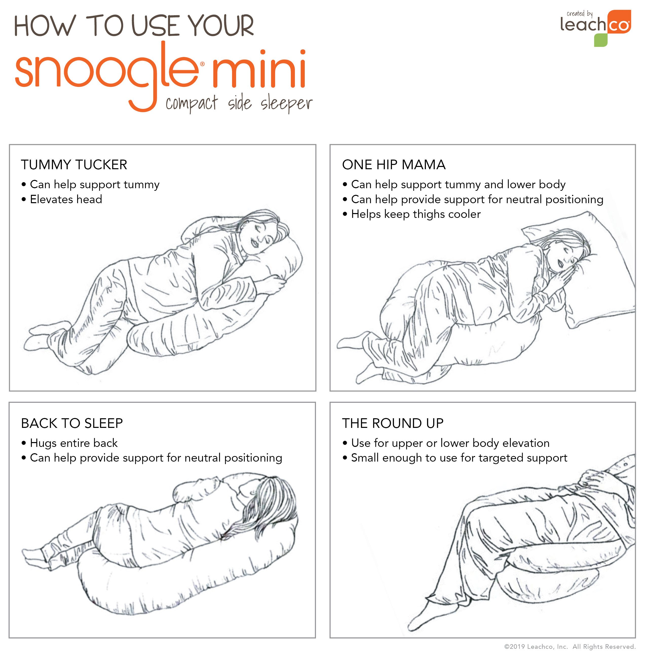 Snoogle Mini Body Pillow Snoogle Mini