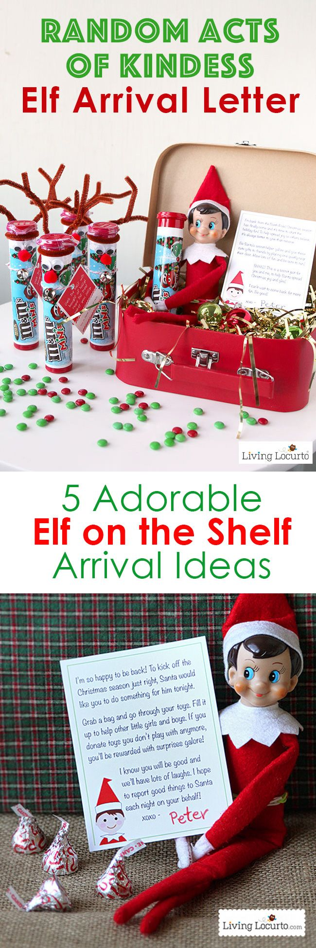 Best Elf on the Shelf Arrival Ideas