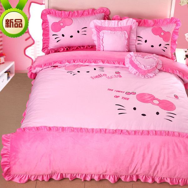 Hello Kitty Bedroom Set Home Decor And Interior Design And Like - Hello-kitty-bedroom-set-interior