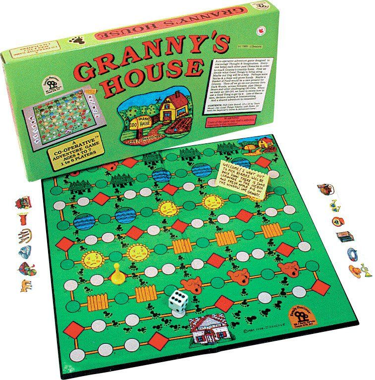 Granny's House Cooperative games, Family games, Games