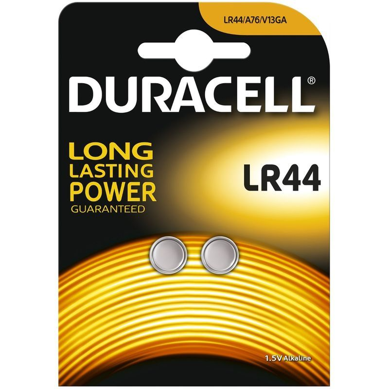 Duracell Pile Bouton Lr44 Large Blister 2 105 Mah 504424 Pile Alcaline Systeme Alarme Et Pile Rechargeable