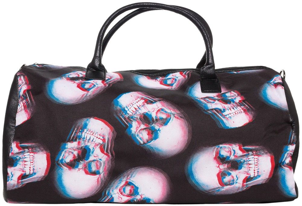 Iron Fist Skull Of Doom Duffle Bag Travel In Style With This All Over Print Features A Roomy Inside