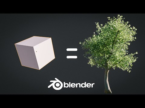 (2) How to Create a Low Poly Tree in 1 Minute YouTube