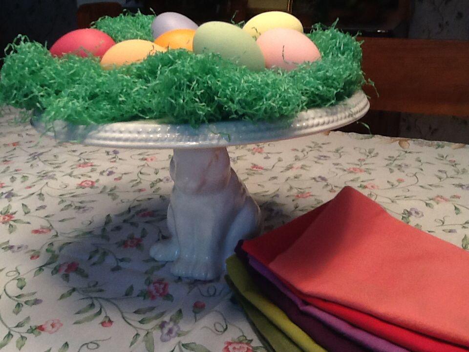 Easter rabbit cake stand rabbit cake stand rabbit cake