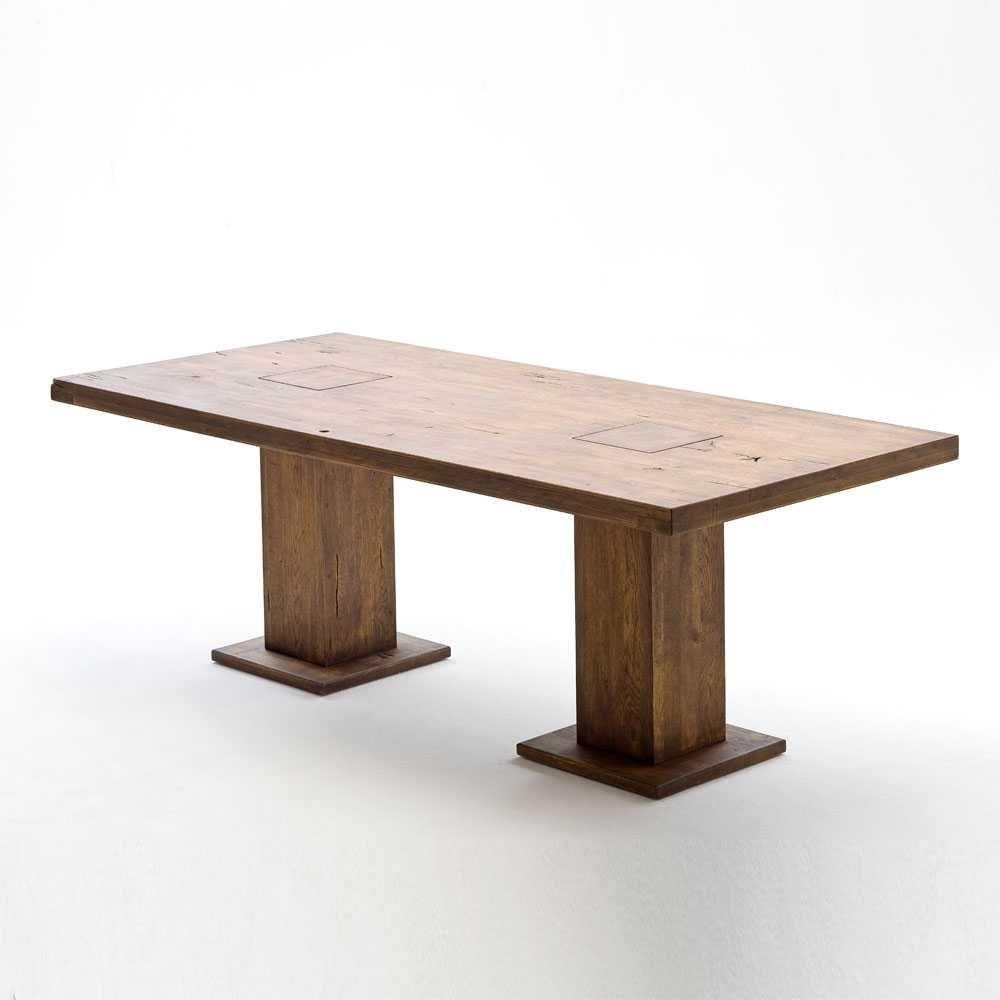 esstisch aus eiche massivholz rustikal holztisch,massivholztisch