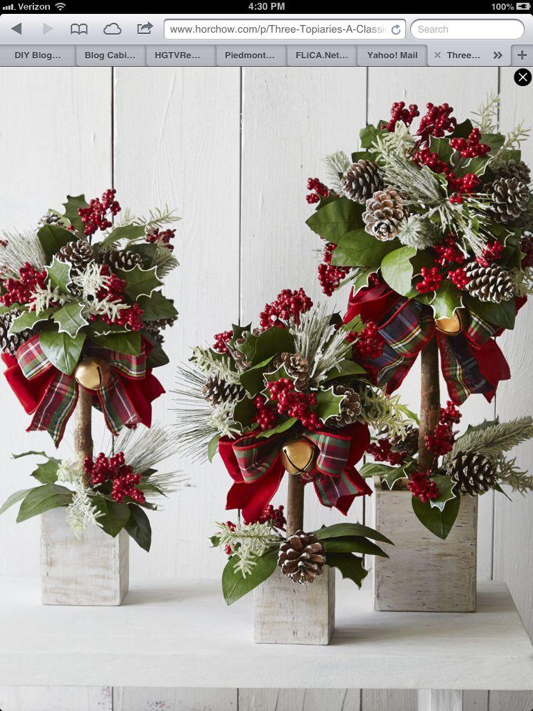 Christmas Topiary Ideas Part - 32: Christmas Topiary