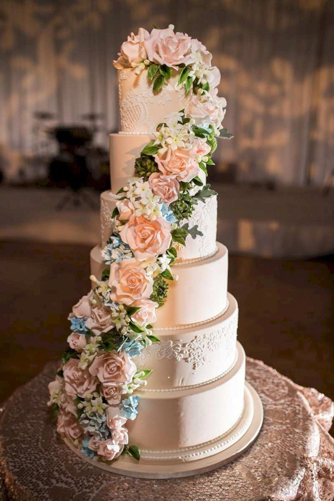 Typically, wedding cakes are is the traditional cake being