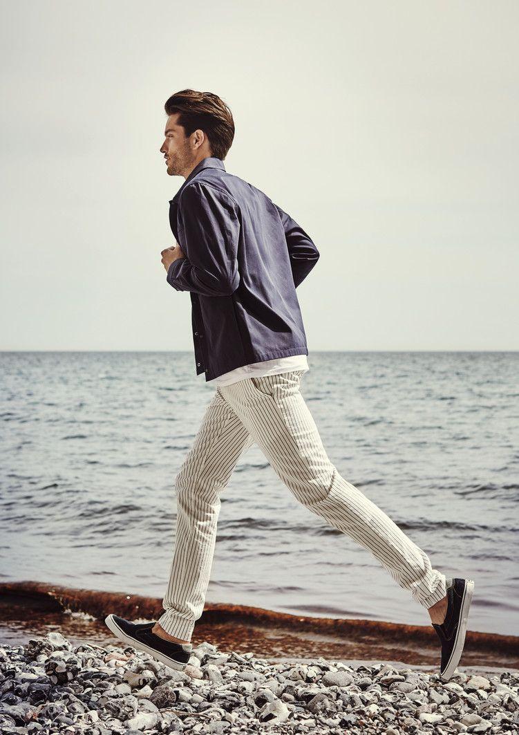 1918 Loft Albertopantsusa Menswear Pants Fashion Style Stripes Alberto Jeans