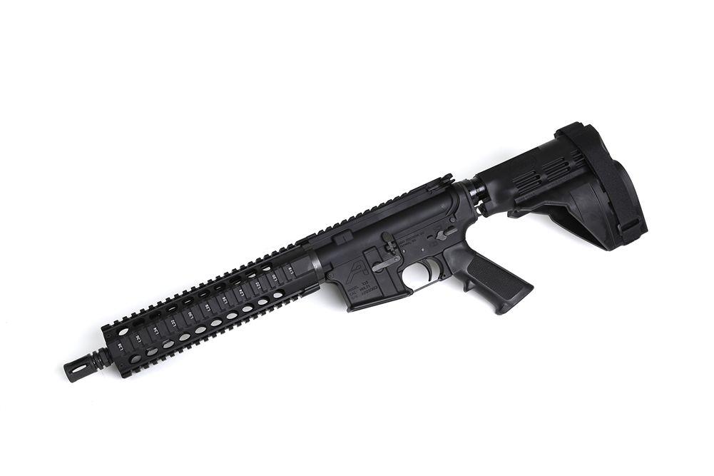 Radical Firearms 105 Quad Rail M4 AR Pistol With Sig Brace 556 RF105PISTOL556
