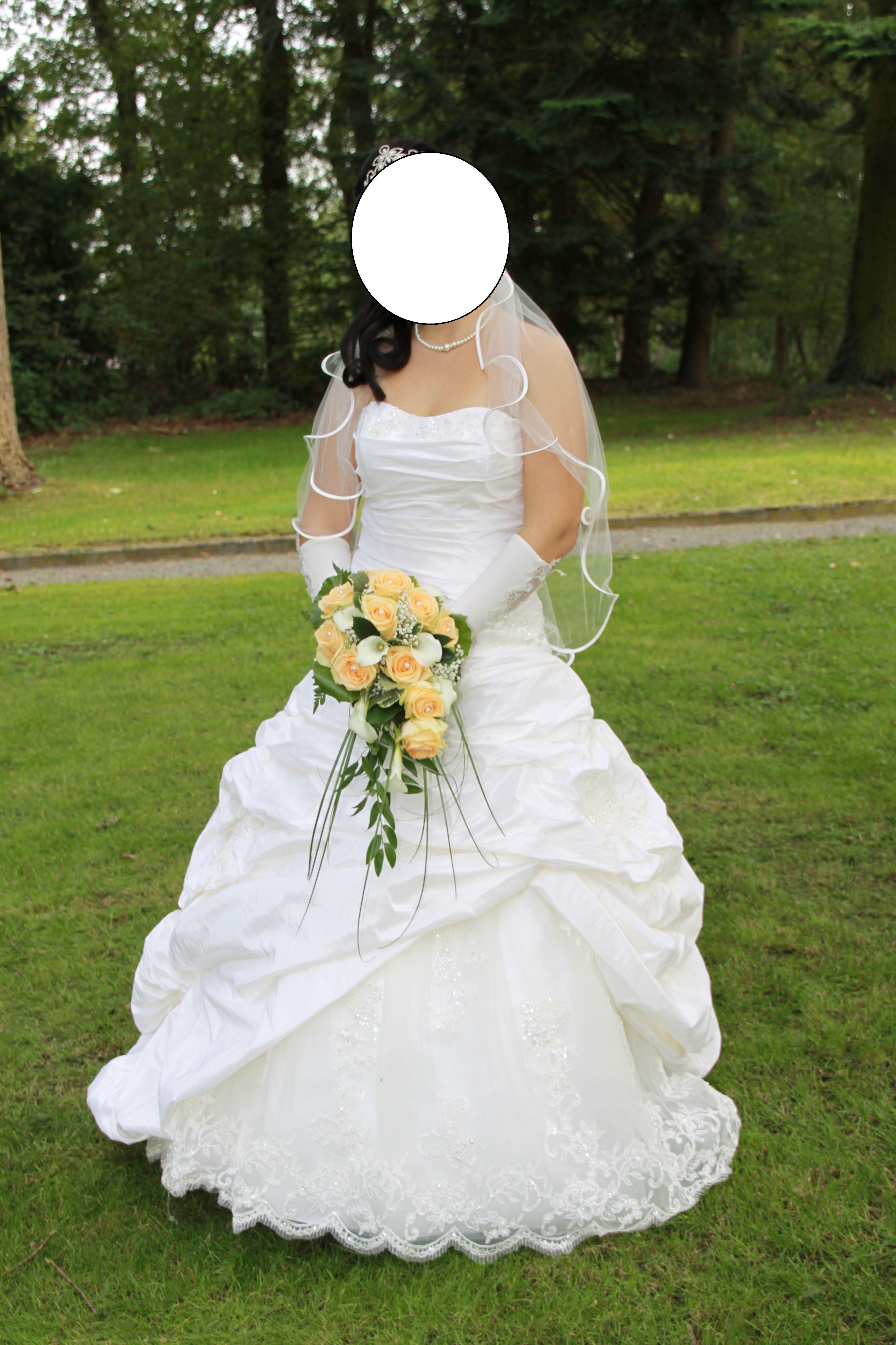 ♥ Traumhaftes Brautkleid in der Farbe ivory, Gr. 40 ♥  Ansehen: http://www.brautboerse.de/brautkleid-verkaufen/traumhaftes-brautkleid-in-der-farbe-ivory-gr-40/   #Brautkleider #Hochzeit #Wedding