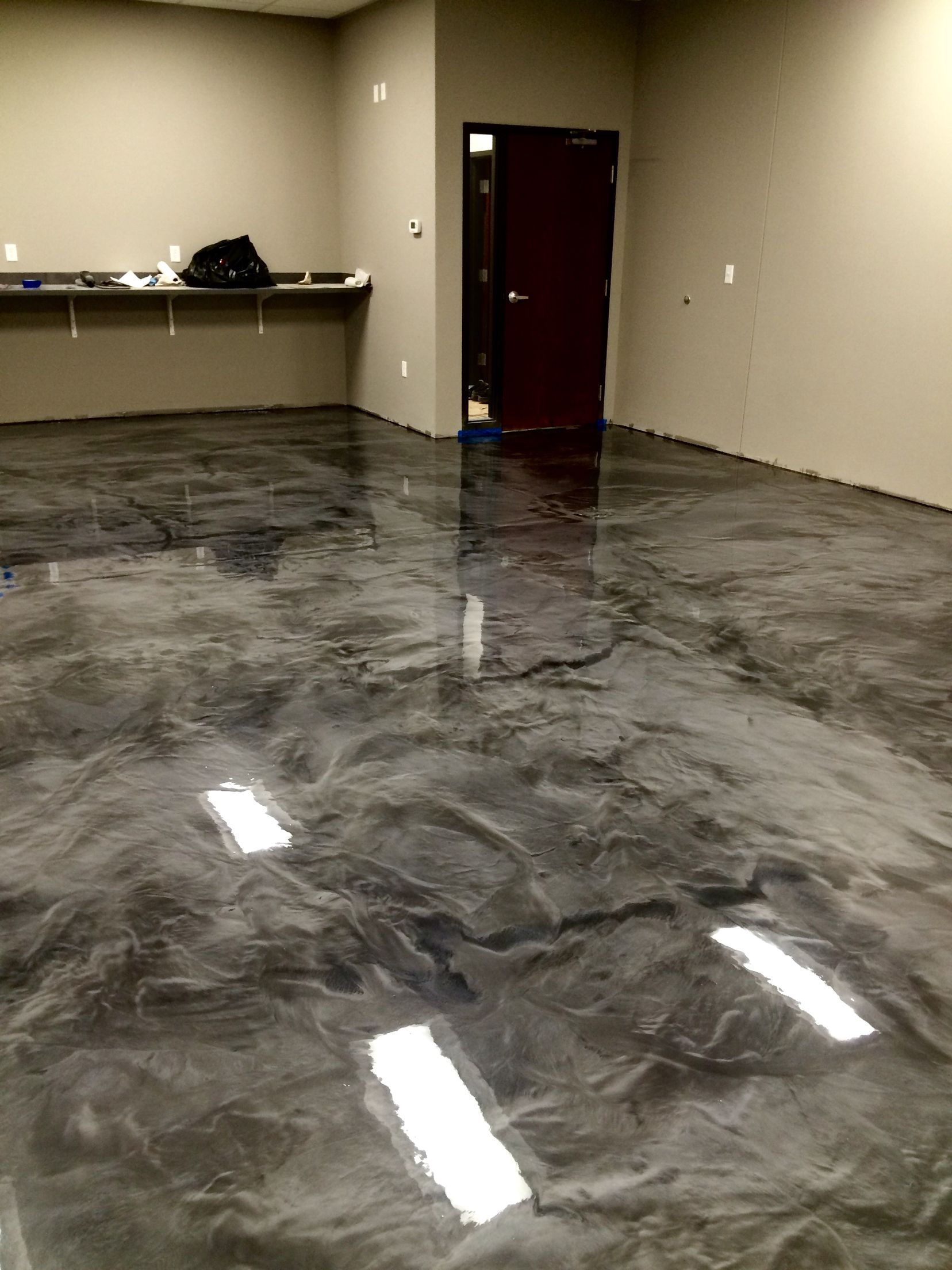 Metallic Epoxy Floor Coatings By Sierra Concrete Arts Metallic Epoxy Floor Epoxy Floor Concrete Floor Coatings