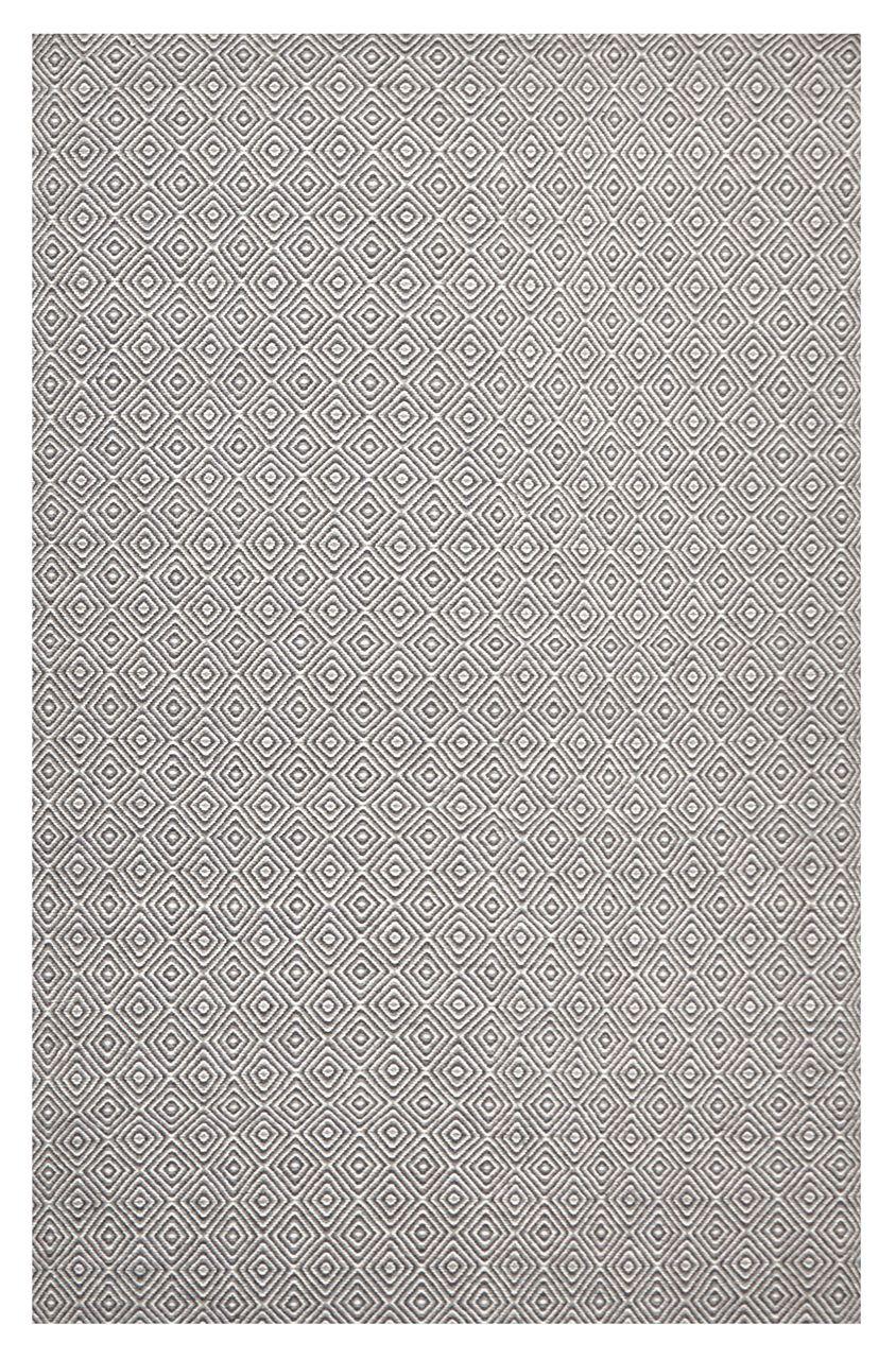 Nordic 304 Grey Wool Rug Rugs