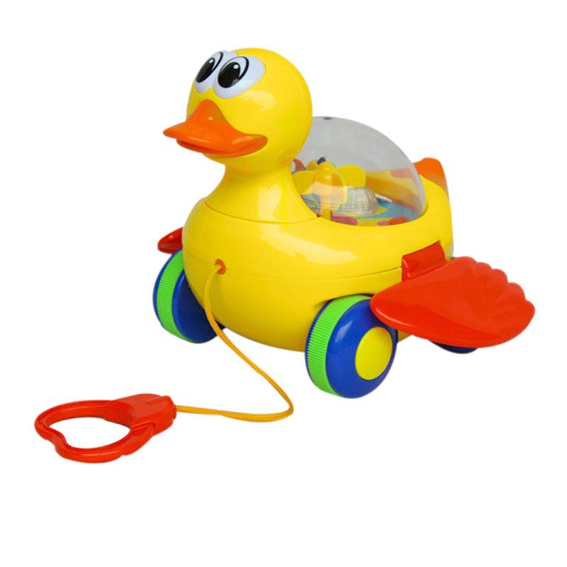 Drag toy Baby Kid Duck design Running Drag toy Educational Toy For ...