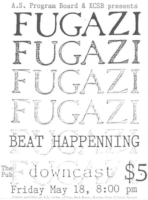 Fugazi X Beat Happening  Visual  Research    Rock