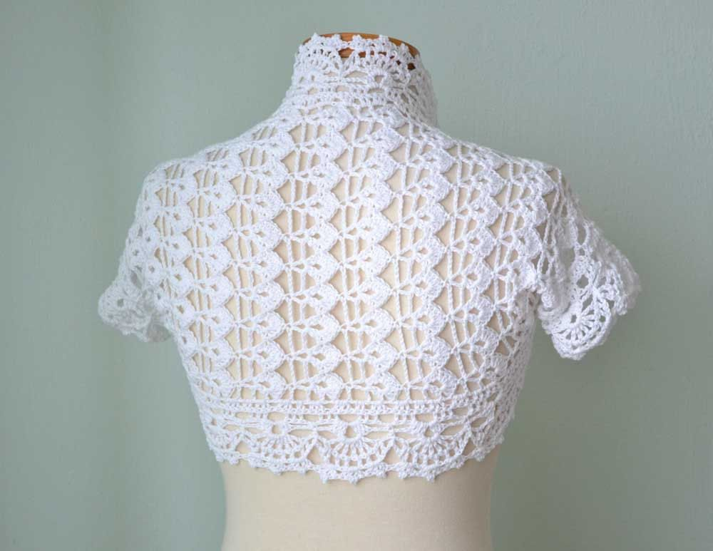 crochet boleros 1 | Para niñas | Pinterest | Croché, Boleros and Encaje