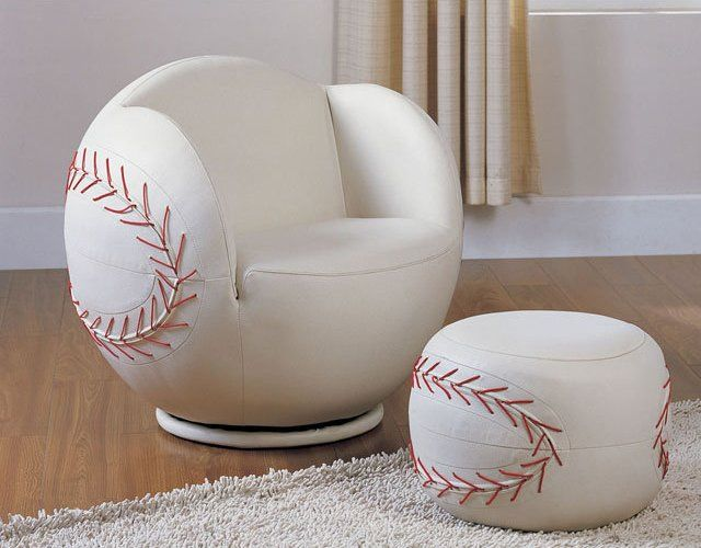 All Star Swivel Chair And Ottoman Set