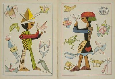 Illustration from vintage Japanese children's magazine