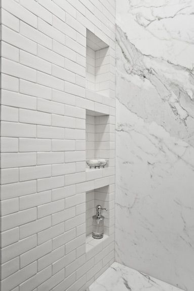 Shower Shelves Bathroom Design Beautiful Bathrooms Subway Tiles Bathroom