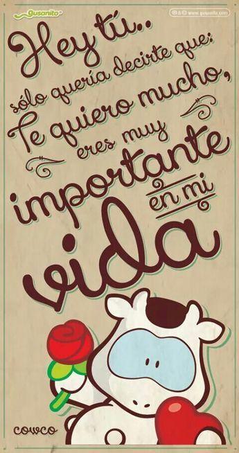 Eres Importante Mensajes Buenos Dias Amor Gusanito Amor Y
