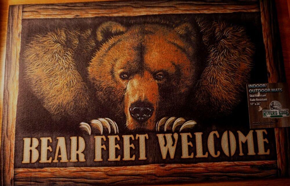 Appalachian Bears Rug In 2020 Bear Area Rug Cabin Rugs Bear Rug