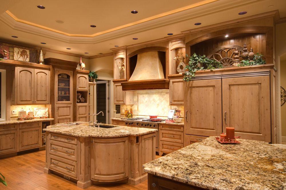 124 pure luxury kitchen designs part 2 luxury kitchens for Dream kitchen ideas