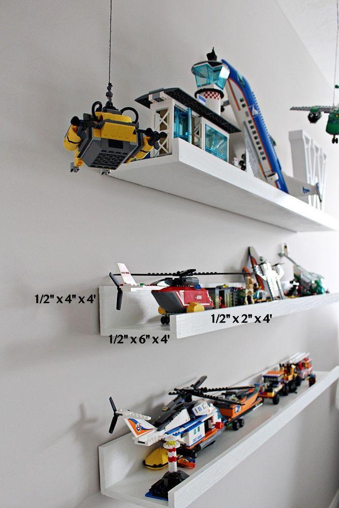 Diy Lego Display Shelf images